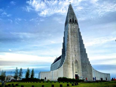 Halgrimskirkja! No trip to Iceland would be complete without climbing to the bell tower of this church to see incredible views of the toyland-esque city of Reykjavik.