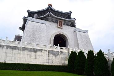 Chiang Kai-shek Memorial Hall! Beneath this is a museum dedicated to Chiang Kai-shek's life, which is super interesting and definitely worth a visit.