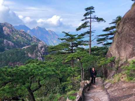 Huangshan is so beautiful!