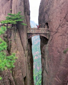 Fairy Bridge at Huangshan