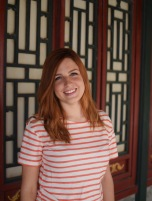 Me at my favorite photo spot in the Summer Palace!