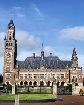 The Peace Palace.